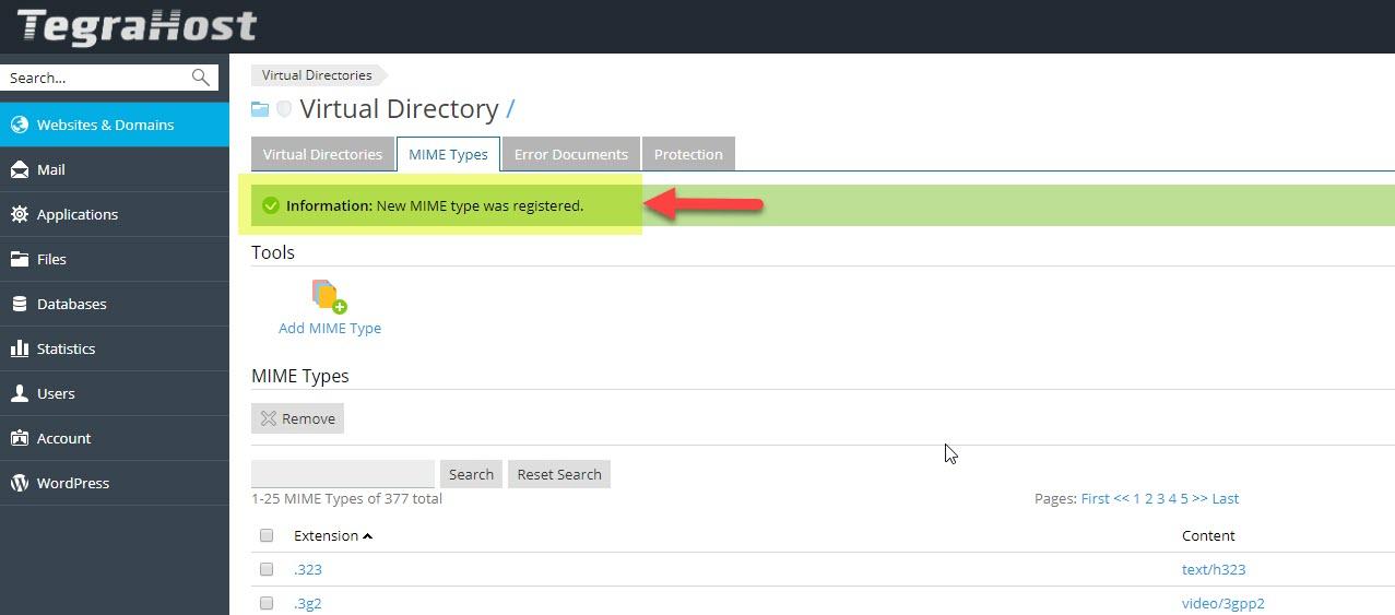 آموزش کار با Virtual Directories در هاست پلسک