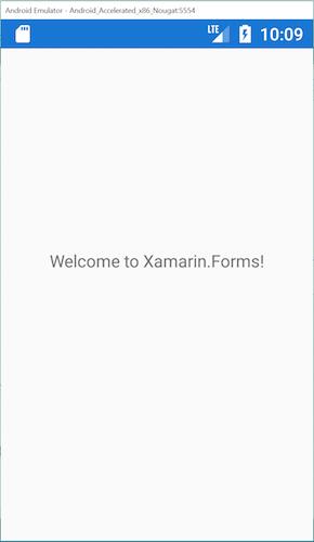 اولین برنامه Xamarin.Forms خود را بسازید